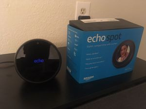 Amazon Echo Spot, Like new for Sale in Adelanto, CA