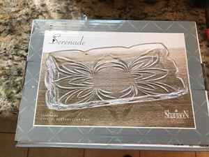 Serenade crystal tray for Sale in Lemon Grove, CA