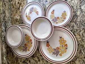 12-piece Newcor Stoneware from Japan for Sale in Silver Spring, MD