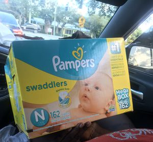 Size Newborn Pampers for Sale in Delray Beach, FL