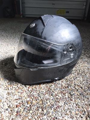 XL motorcycle helmet with inside tinted visor for Sale in Industry, PA