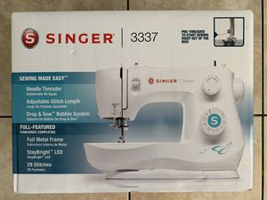 Singer 3337 29-stitch Sewing Machine NEW & SEALED for Sale in Tempe, AZ