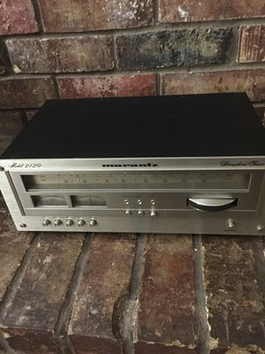Vintage Marantz tuner model 2120 for Sale in Houston, TX