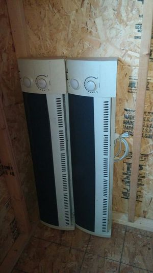 Cleaning out the shed. 2 nice heaters for $20.00each. for Sale in San Diego, CA