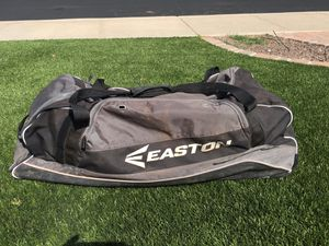 Easton Baseball Catchers Rolling Bag (bag only, no gear included) for Sale in Phoenix, AZ