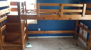 Bunk bed for with drawers for Sale in Greensboro, NC