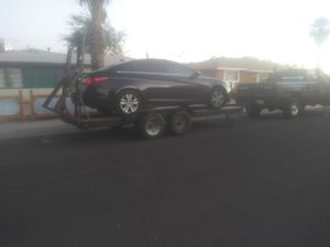 Dual axle car hauler/ utility trailer for Sale in Phoenix, AZ