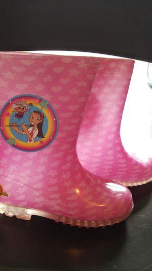 Atencion Atencion Girl Rain boots size 11 ages 5-7 for Sale in Middleburg, FL