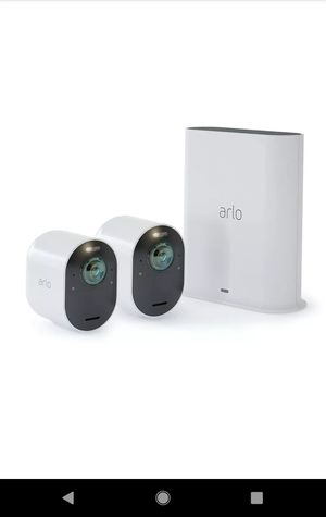 Arlo 4K UHD Wire-Free Security Camera System Ultra + Series for Sale in Las Vegas, NV