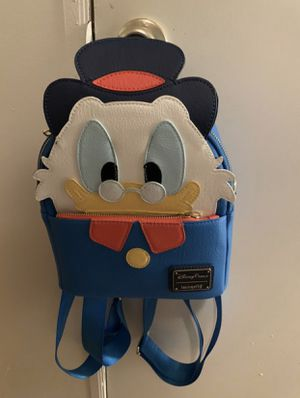 Scrooge McDuck Loungefly Backpack Disney for Sale in Lake Wales, FL