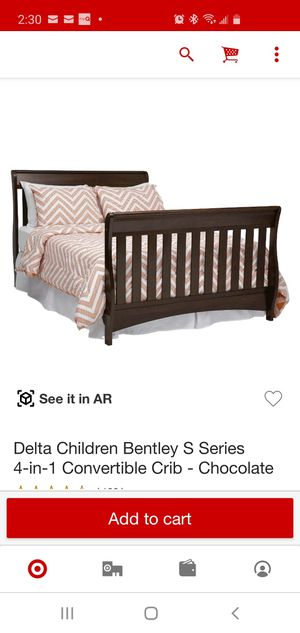 Full size bed frame for Sale in Romeoville, IL