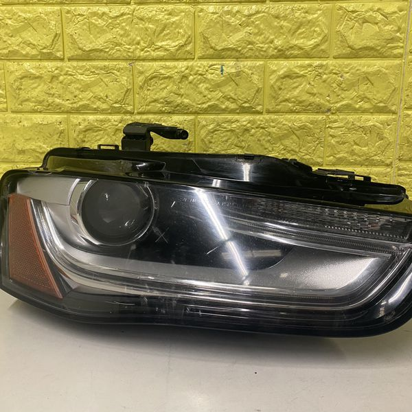 2013-2016 AUDI A4 S4 RIGHT HEADLIGHT DRIVER SIDE LED XENON USED GENUINE OEM. R2