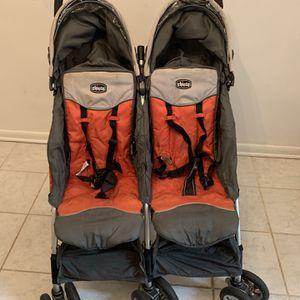 Chico C5 Side By Side Stroller Ultra Lightweight for Sale in Arlington, VA