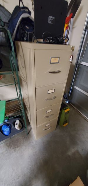 STAINLESS STEEL FILE CABINET for Sale in Houston, TX