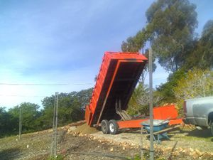 Carson dump trailer 8×16 for Sale in Ramona, CA