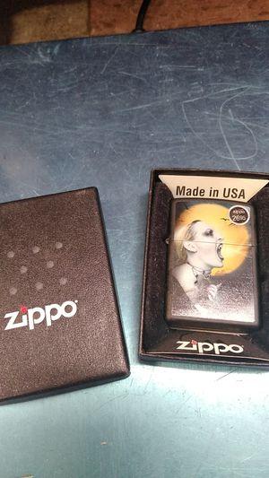 Zippo screaming heart under the moon for Sale in Philadelphia, PA