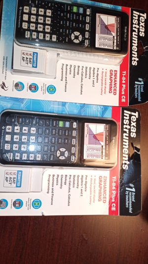TI-84 PLUS CE GRAPHING CALCULATORS BRAND NEW!! for Sale in Tukwila, WA
