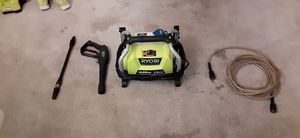 1600psi Ryobi pressure washer used once for Sale in Tampa, FL