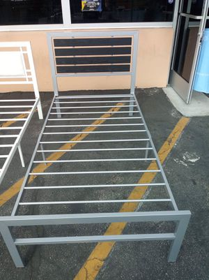 Twin Metal Bed Frame for Sale in Pomona, CA