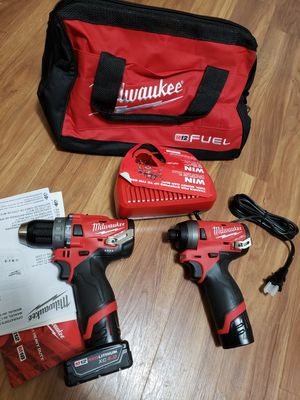Milwaukee m12 drill fuel set for Sale in Laurel, MD