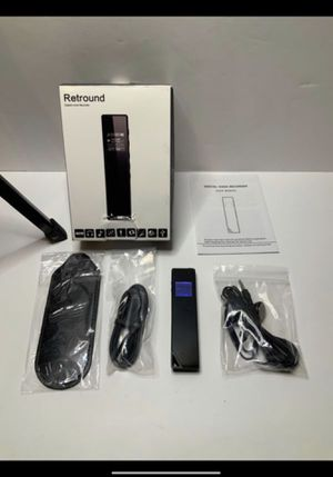 Digital Voice Recorder with built-in speaker for Sale in San Bernardino, CA