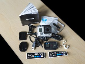 GoPro hero 3+ black edition 4K and accessories for Sale in Warwick, RI
