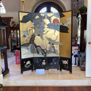 Authentic Chinese Wooden Screen for Sale in Trabuco Canyon, CA