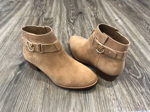 BRAND NEW! Michael Kors Harland Suede Boots! 6.5 for Sale in Little Falls, NJ