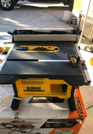 DEWALT FLEXVOLT 60-Volt MAX Lithium-Ion Cordless Brushless 8-1/4 in. Table Saw (Tool-Only) for Sale in Pomona, CA