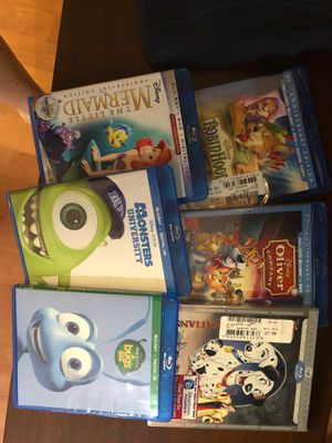 6 Disney movies for Sale in Santee, CA