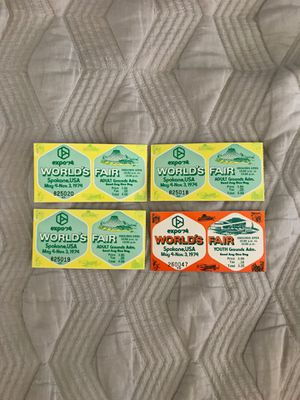 Expo'74 World Fair tickets for Sale in Peoria, AZ