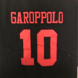 Jimmy Garoppolo San Francisco 49ers almost new Nike on field children size large NFL football jersey for Sale in Bakersfield,  CA