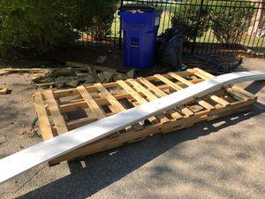 Free wood pallets - 2 large for Sale in Norfolk, VA