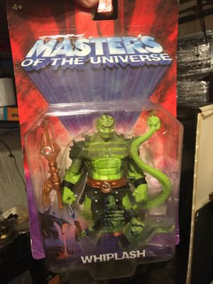 Collectors 2002 masters of the universe ' whiplash' action figure sells online 35-45+ for Sale in Oakley, CA