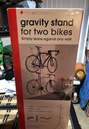 Brand new gravity stand for two bikes for Sale in Oceanside df312b180