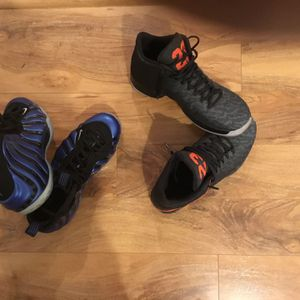 Two pair of air Jordans 9 1/2 men's worn ones like brand new when I say once I mean to the mailbox and back for Sale in Happy Valley, OR