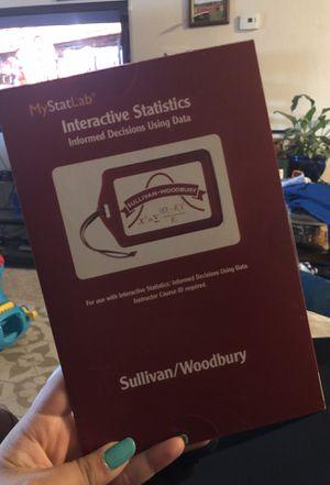 Interactive Statistics for Sale in Sacramento, CA