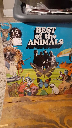 Best of the animals album in sealed plastic. for Sale in Huntington Beach, CA