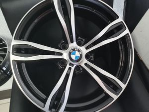 """4 NEW 18"""" Rims for a BMW, cuatro rines nuevas (finance for only $39 down! NO CREDIT NEEDED!) for Sale in Santa Fe Springs, CA"""