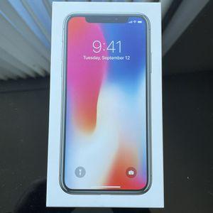 iPhone X 256GB Space Gray Unlocked for Sale in Arlington, VA