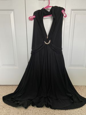 Black cocktail dress (M) for Sale in Greenwich, CT