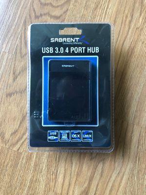 New Sabrent USB 3.0 , 4 Port Hub for Sale in Fremont, CA