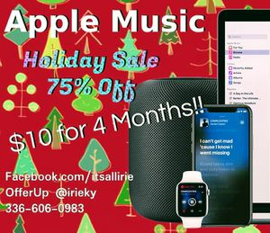 Apple Music Discount for Sale in High Point, NC