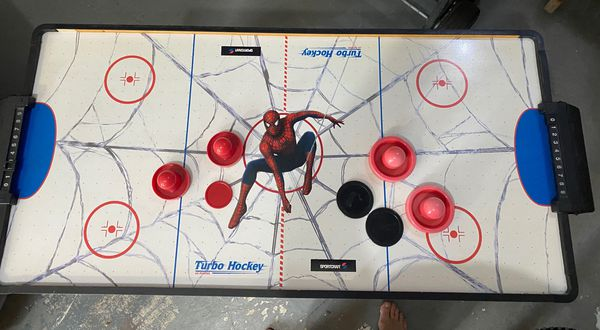 Spider-Man 2 Air Hockey Table