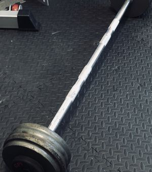 GPI 90lbs fixed commercial gym Barbell for Sale in Queens, NY