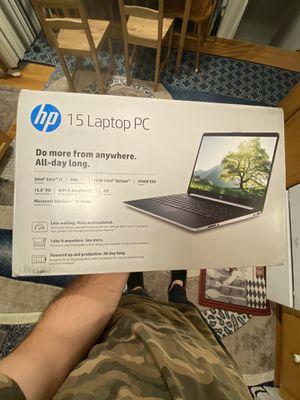 "HP 15.6"" Laptop, Intel Core i7, 8GB RAM, 256GB SSD+16GB Optane, Carbon Slate (Google Classroom Compa for Sale in Wayne, IL"