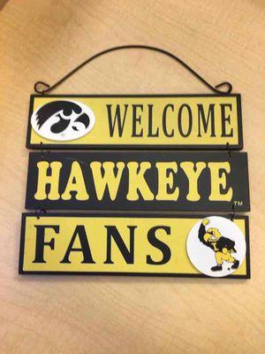 Hawkeyes sign for Sale in Ypsilanti, MI