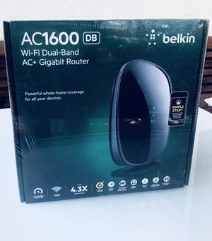 WiFi Dual band Internet Router Belkin - AC1600 BRAND NEW! for Sale in Los Angeles, CA