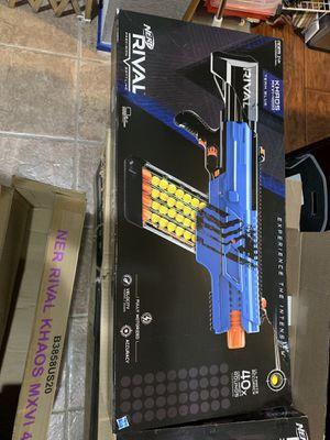 Nerf rival gun for Sale in Chula Vista, CA