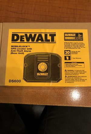 DeWalt Mobile Lock GPS for Sale in Cleveland, OH